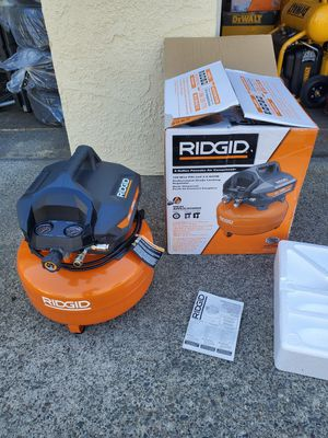 RIDGID 6 Gal. Portable Electric Pancake Air Compressor for Sale in Westminster, CA