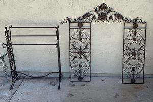 Iron Wall Art Decor and Home Decor BUNDLE for Sale in Laguna Niguel, CA
