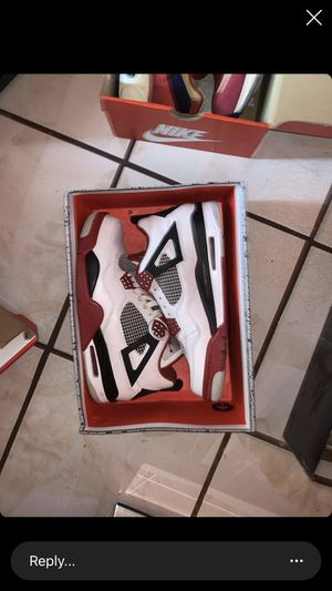 Fire red 4 2012 size 10 for Sale in Walnut Grove, CA