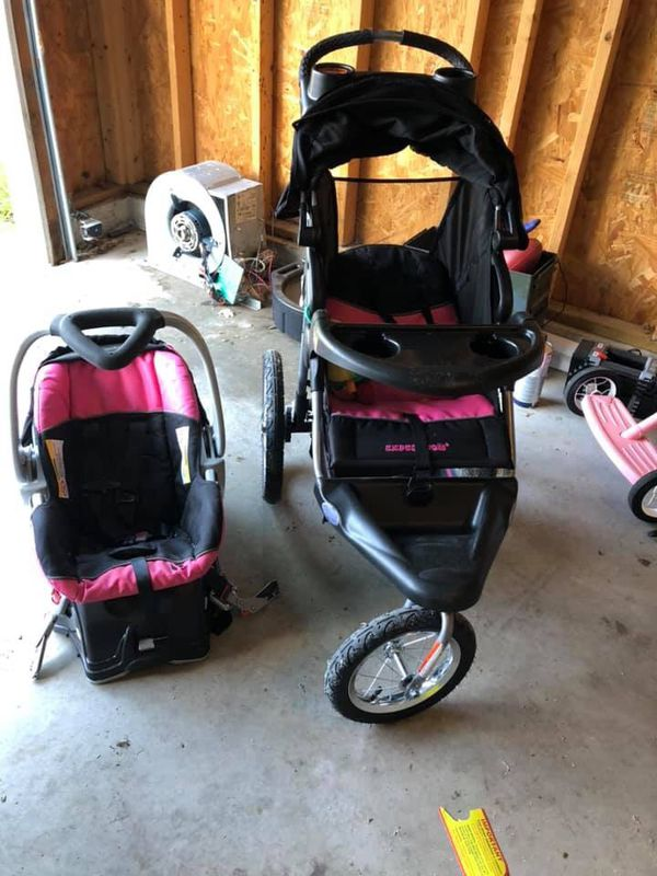 Baby trend expedition stroller set