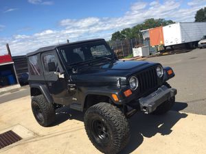 1998 Jeep Wrangler tj 4.0 5 speed lifted for Sale in East Haven, CT