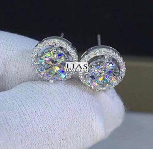 New 18 k white gold studs earrings for Sale in Orlando, FL