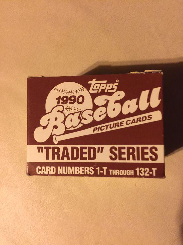 1990- Topps Traded Set.