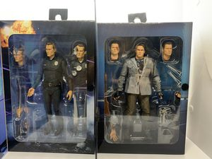 Neca: Ultimate Terminator, T-800 & T-1000 Figures! for Sale in New York, NY