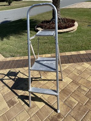 Two step aluminum step ladder for Sale in The Villages, FL