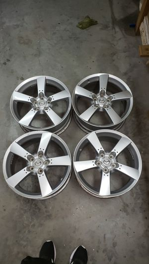 2004 2005 2006 2007 2008 MAZDA RX8 18x8 5 SPOKE WHEEL RIM 9965118080 SET OF 4 for Sale in GRANT VLKRIA, FL