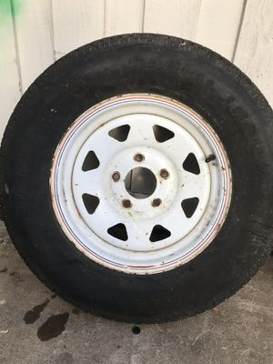 Tire for trailer for Sale in Pasadena, TX