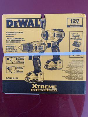 DEWALT 2-Tool 12-volt Max Brushless Power Tool Combo Kit for Sale in Sandy, UT