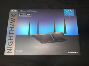 Netgear Nighthawk AX6 AX4300 Wifi 6 Router for Sale in Downey, CA