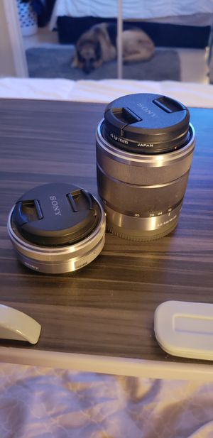 Sony Camera Lens for NEX Series E mount Wide lens OSS lens for Sale in Hollywood, FL
