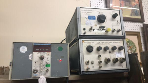 Tektronix calibration fixture and other equipment