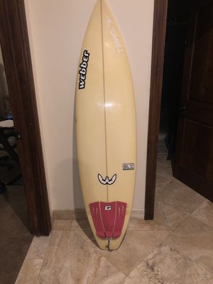 6'2 Epoxy Shortboard Afterburner by Webber for Sale in San Diego, CA