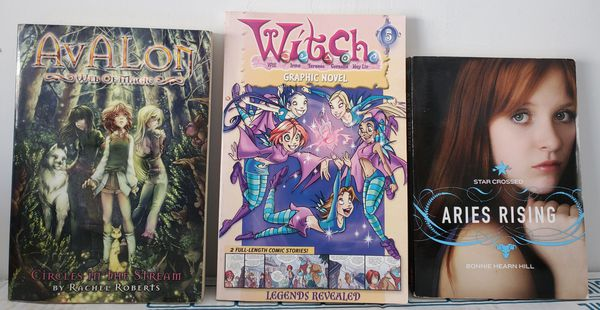 Witches/Fantasy Young Reader Novel Set