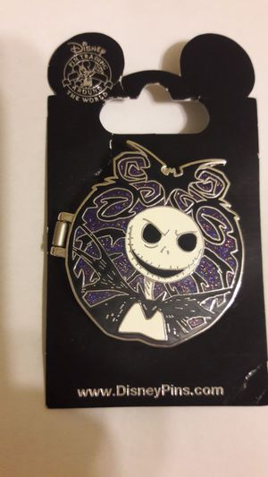 DISNEY Nightmare before Christmas Jack pin hinged with all Characters inside for Sale in Fort Lauderdale, FL
