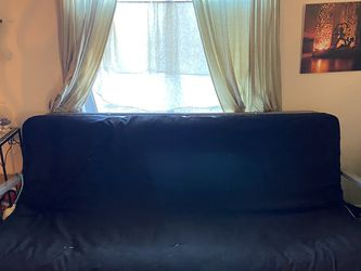 Black Futon with Metal Frame for Sale in Taylor,  MI