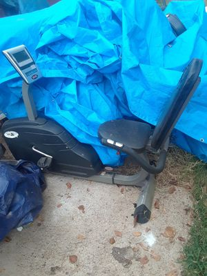 Edge Exercise Bike Works great $35.00 as is cash only for Sale in Dallas, TX