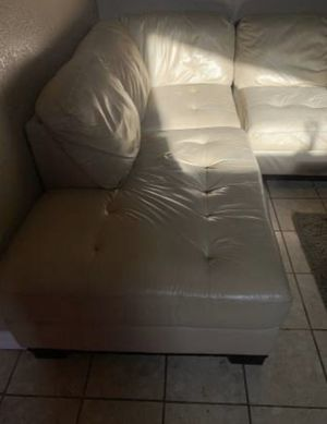 Large leather sectional for Sale in Newark, CA