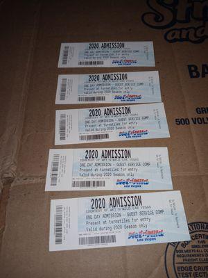 Wet n wild tickets for Sale in Las Vegas, NV