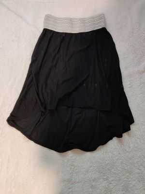 Black laced rim skirt ( very soft) for Sale in Spokane, WA