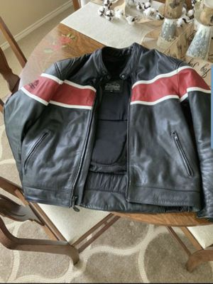 Leather Motorcycle Jacket Size XL for Sale in Carrollton, TX