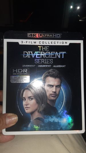 Divergent Movie series 3 for $15 for Sale in Barkhamsted, CT