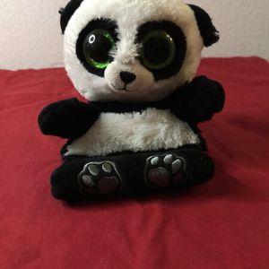 Cute Panda Beanie Baby Phone Stand for Sale in Corona, CA