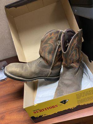 "Steel Toe ""Survivors"" Work Boots for Sale in Oldsmar, FL"