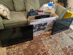 3 TVs all for $120!.. ( 2 remote are missing ) .. for Sale in Richmond, VA