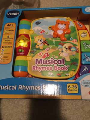 Musical rhymes book for Sale in Smyrna, GA
