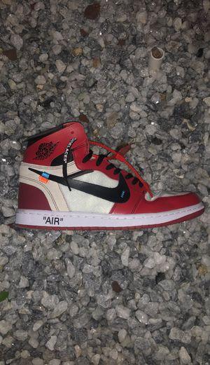 Nike off white Jordan 1's for Sale in Ontario, CA