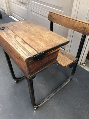 Antique Student Desk $185 for Sale in West Covina, CA