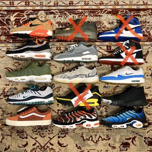 (Sizes 8.5, 9, 9.5) Various Nike Air Maxes, Retros, and Vans for Sale in Pinellas Park, FL