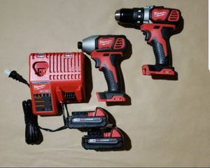Milwaukee M18 Drill Driver Impact Driver Kit for Sale in Greenville, SC