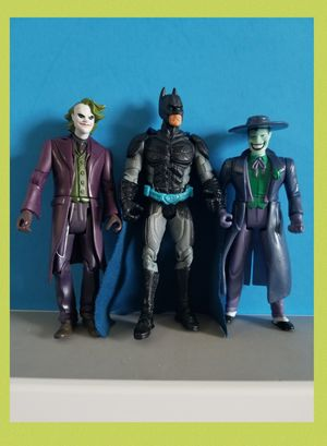 Batman and Jokers Action Figures. for Sale in Sanford, FL