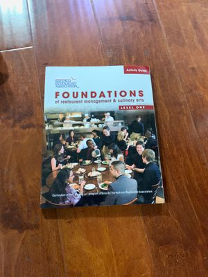 Activity Guide for Foundations of Restaurant Management and Culinary Arts: Level 1 1st Edition ISBN-13: 978-0137070503, ISBN-10: 0137070500 for Sale in City of Industry, CA