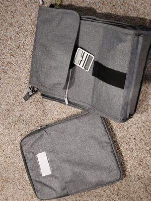 IKEA Upptack laptop Gray messenger bag for Sale in Plainfield, IL