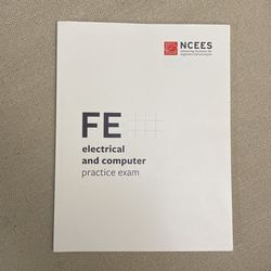 Fe Electrical and Computer Practice Exam( The New Version) for Sale in Houston,  TX