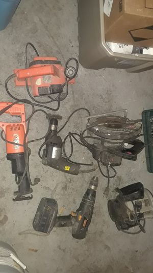Power tool lot, saw, router, planer, drill for Sale in St. Louis, MO