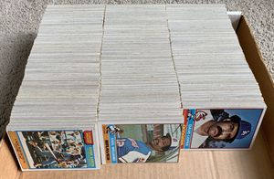 Over 1,300 Topps 1976 Baseball Cards only missing 7 Cards from completing a set for Sale in Placentia, CA