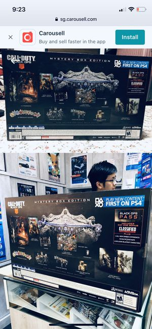 Ps4 call of duty black ops 4 (brand new unopend wrapped all 9 items including the game)(special edition mystery box) 2019 ,(199$or best offer) https: for Sale in Miami, FL