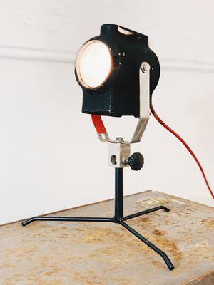 Vintage stage lamp/ desk lamp/ shelf lamp for Sale in Los Angeles, CA