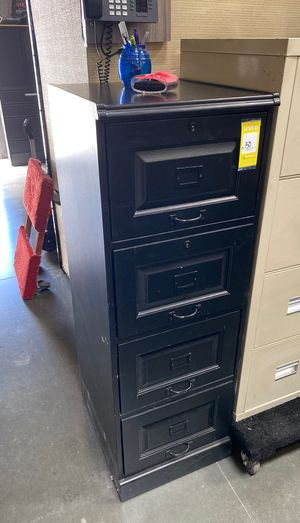 Very rare wooden 4 drawer filing cabinet. Last one for Sale in Wildomar, CA
