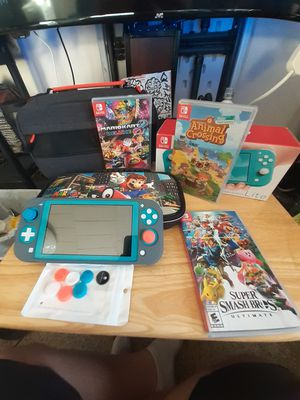 Nintendo switch lite and accessories for Sale in Hartford, CT