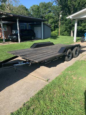 16' Flat bed car hauler for Sale in Fort Leonard Wood, MO