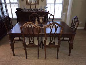 6 piece dining room set for Sale in Alpharetta, GA
