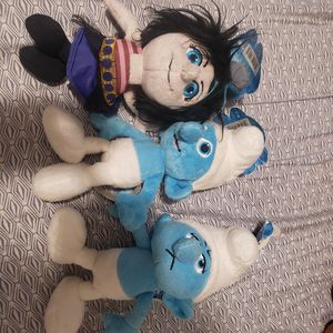 Smurf stuffed animals for Sale in Torrance, CA