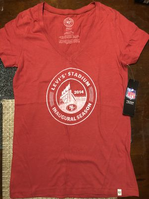 Women's Majestic Levi's Stadium Inagural Season T-shirt (size: s) for Sale in San Jose, CA