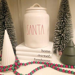 RAE DUNN SANTA canister cookie jar for Sale in Arcadia, CA