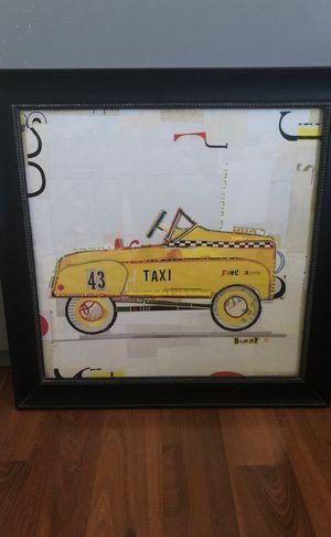Retro toys car picture piece 2 of 2 for Sale in Brighton, CO