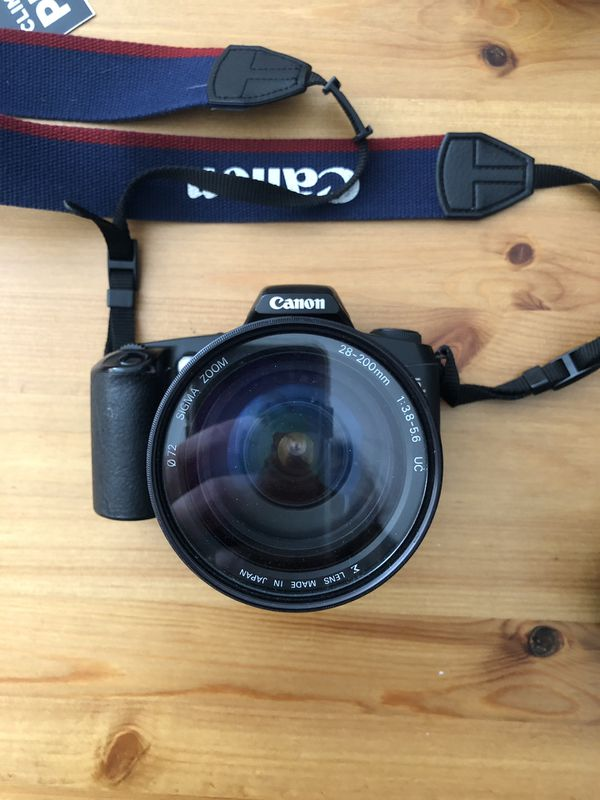 Canon rebel FILM camera with two lenses $100